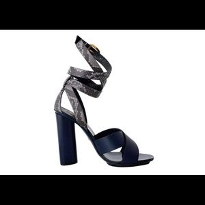 b0d5752c72c7 Gucci Shoes - Gucci Lifford Python Leather Strappy High-Heels